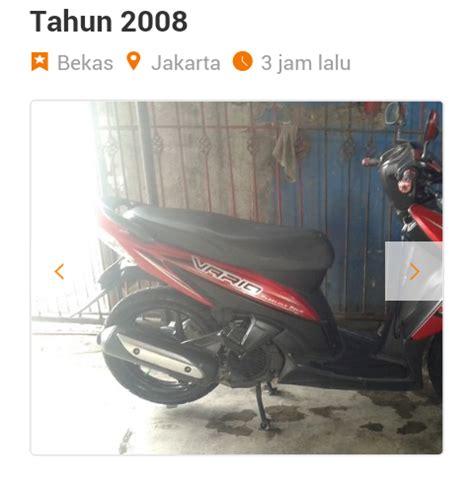 Vario 110 Merah 2008 by Spd Motor Matic Honda Vario Cw Nc 110 Th 2008 Jual