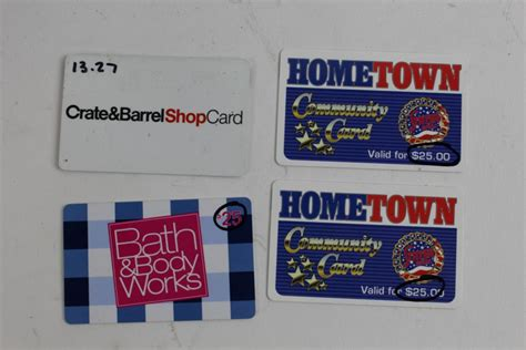Stater Bros Gift Cards - stater bros bath body works and crate barrel gift cards 88 27 property room