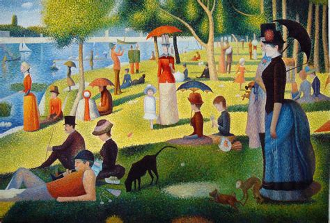 georges seurat most famous paintings georges seurat quot sunday quot hair and makeup design process
