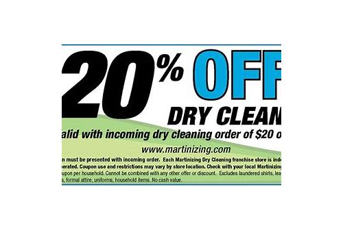 dry cleaning coupons sylvania ohio