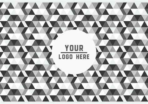 logo black and white vector free black and white geometric logo background vector