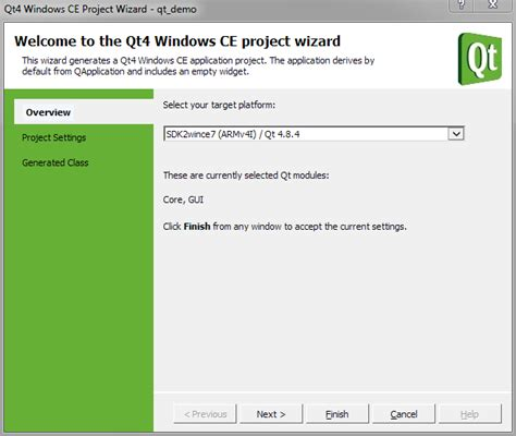 Qt Programming Knowledge | how to create a qt application