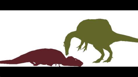 100 dinosaurs 500 subscribers youtube pivot tyrannosaurus vs spinosaurus youtube