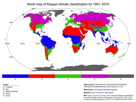 climate map k 246 ppen climate classification