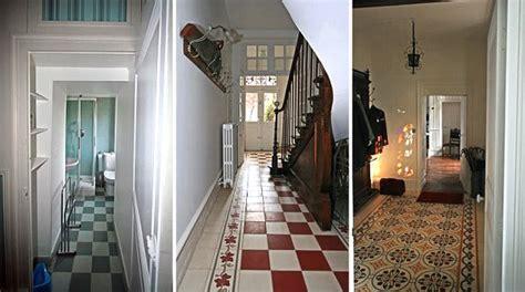 piastrelle anni 30 pavimenti anni 30 bruni caldi e geometrici