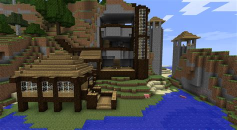 minecraft mountain house designs minecraft mountain house ideas epic minecraft house ideas cool small house