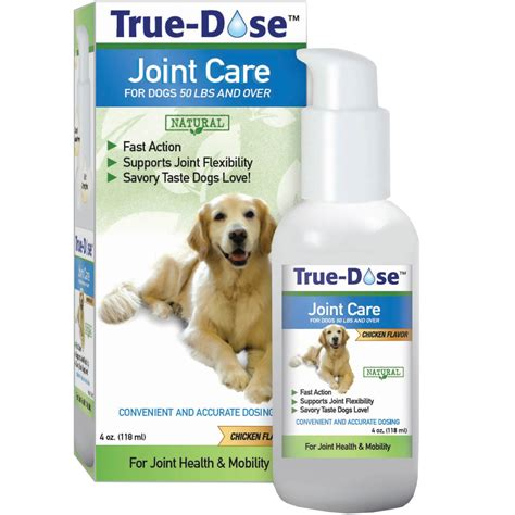 dogs 50 pounds true dose joint care for dogs 50 lbs 4 oz healthypets