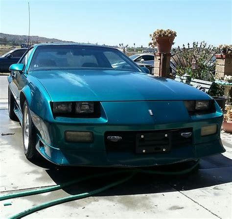 1992 camaro t top find used 1992 chevrolet camaro rs heritage edition t top