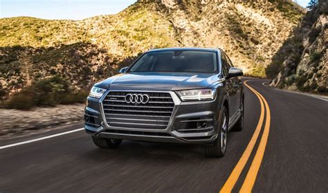 Audi Usagé by 2017 Audi Q7 Visualizer Colors Cabins Pricing And
