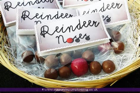 reindeer noses christmas party favors bags of reindeer noses 187 the purple pumpkin