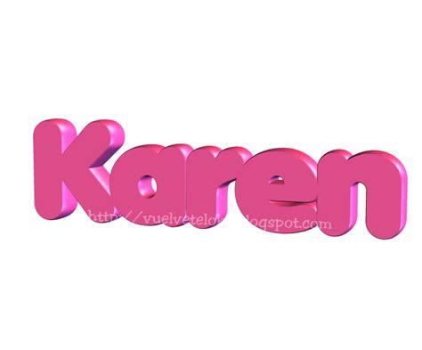 imagenes de letras goticas que digan karen nombre karen imagui
