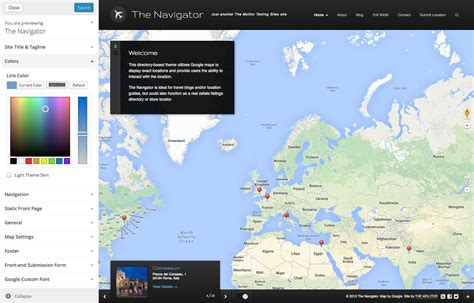 themeforest locations the navigator premium wp location guide blog by