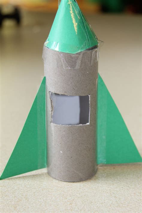 How To Make Rocket Out Of Paper - toilet paper roll craft getcreativewithkids