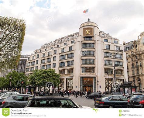 casa di moda casa di moda di louis vuitton parigi francia fotografia