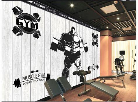 wallpaper for gym walls online get cheap club fitness gym aliexpress com
