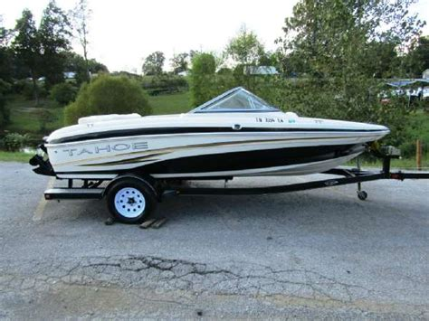fish and ski boats for sale used used tahoe fish and ski boats for sale page 1 of 1
