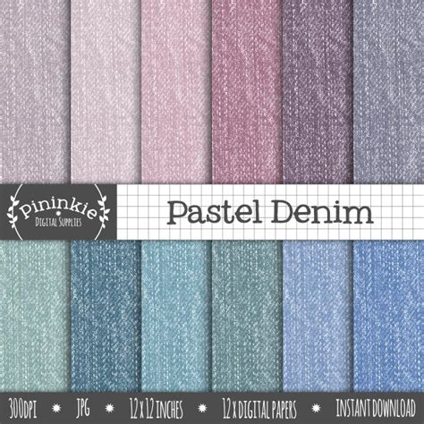 jeans paper pattern denim digital paper fabric texture jeans scrapbooking