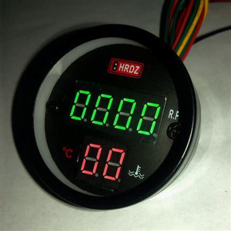 Rpm Led Motor car motor tachometer rpm thermometer led light for 2