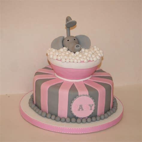 Baby Shower Tub by Elephant In Tub Babyshower Cake