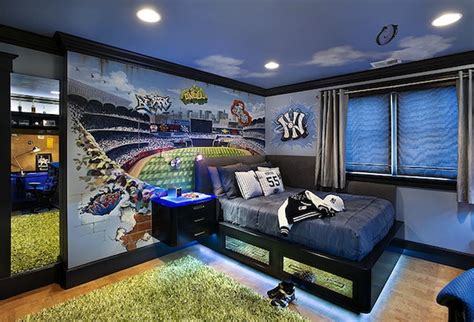 yankees bedroom a bedroom fit for a yankee fan river avenue blues