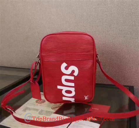 Dompet Supreme X Lv Original lv supreme bag louis vuiton x supreme wallet handbag