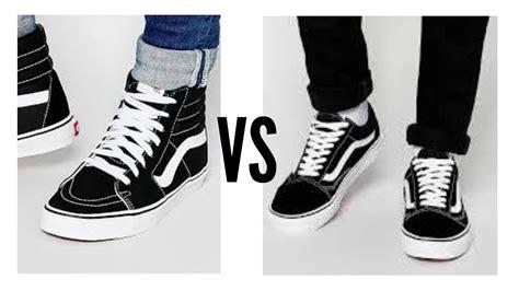vans sk high   skool mens fashion battles youtube