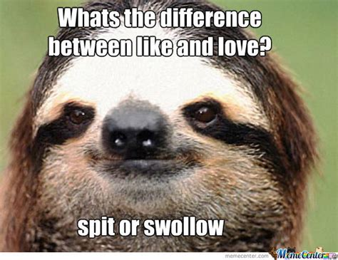 Make A Sloth Meme - listen to the sloths wisdom baby by mlangler meme center