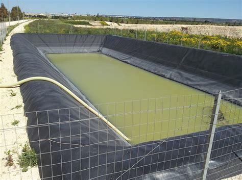 vasca acqua piovana impermeabilizzazione vasche agricole ed industriali