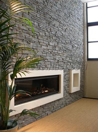slate wall cladding  fireplace   home wall