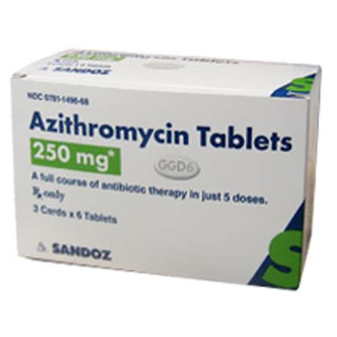 z apk azithromycin tabs 250mg z pack 3x6 tabs by generic brand may vary