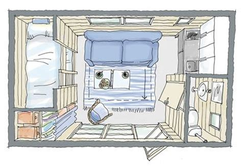 turning a shed into a tiny house turn the bottom bunk into an office closet shed house floor plan like it put stand