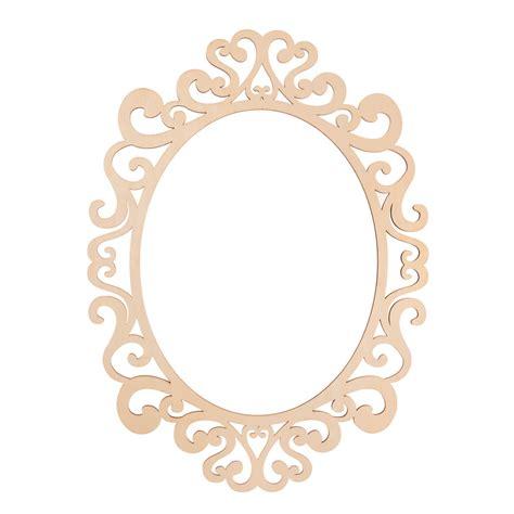 Fancy Bingkai Foto Frame Foto Karakter fancy oval laser cut wood frame by artminds 174 11 quot x 14 quot