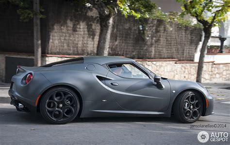thing of beauty matte grey alfa romeo 4c
