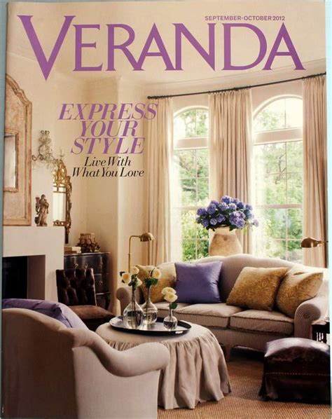 veranda magazine veranda magazine september october 2012