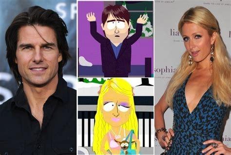 list of celebrities mocked on south park celebrities parodied by south park zimbio