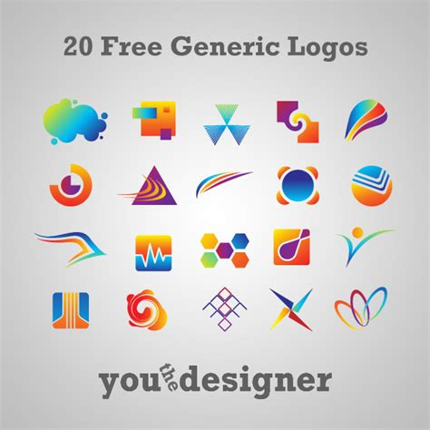 design a logo website for free 20 free generic logos by youthedesigner on deviantart