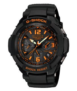 G Shock Orange Black new gw 3000 g shock series announced in japan mygshock