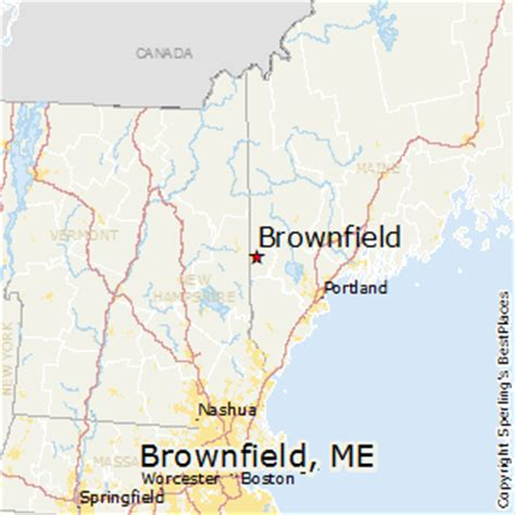 best places to live in brownfield maine