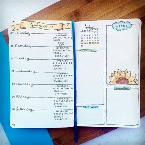 Layout Instagram Buzzfeed | 25 satisfying bullet journal layouts that ll soothe your soul