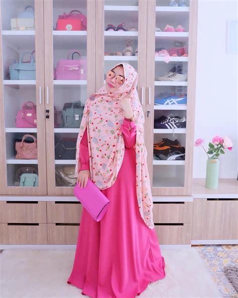 Gamis Syari Remaja 2018 18 model baju muslim remaja 2018 terbaru stylish casual dan modis