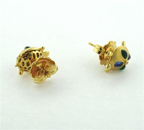 temple st clair sapphire emerald gold turtle
