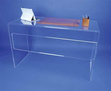 bureau plexiglas bureaux et tables plexi
