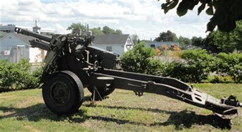 Pdr Bc 34 ordnance qf 25 pdr de longue pointe montr 233 al qc canada static artillery displays on