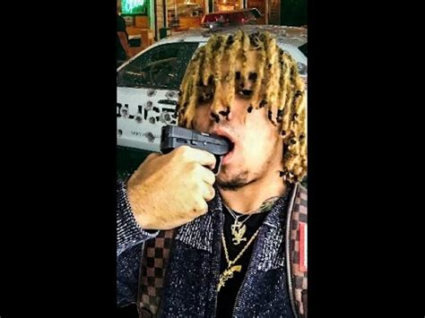 lil pump live lil pump hits a stain on instagram live youtube