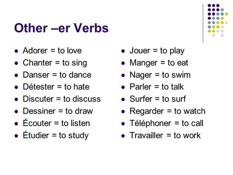 er verb pattern french the gallery for gt elementary computer lab rules