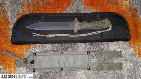 yarborough knife for sale armslist for sale chris reeve issued and serial numbered green beret yarborough knife