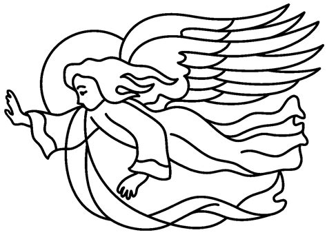 flying angel coloring page officina kriativa da cris vamos colorir