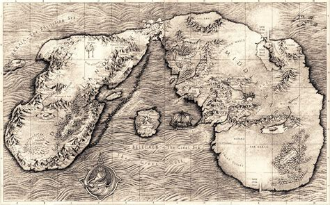 entire middle earth map plus613 culture in the blender complete map of middle