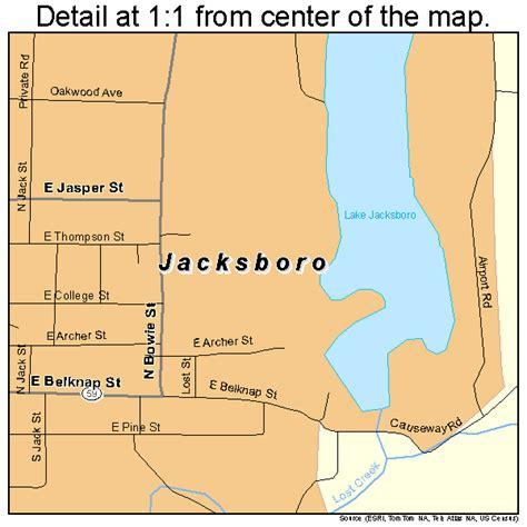 jacksboro texas map jacksboro texas map 4837168