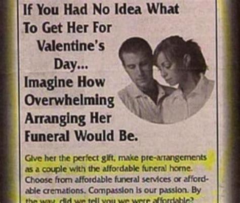 worst valentines day worst s day gifts the auditorium